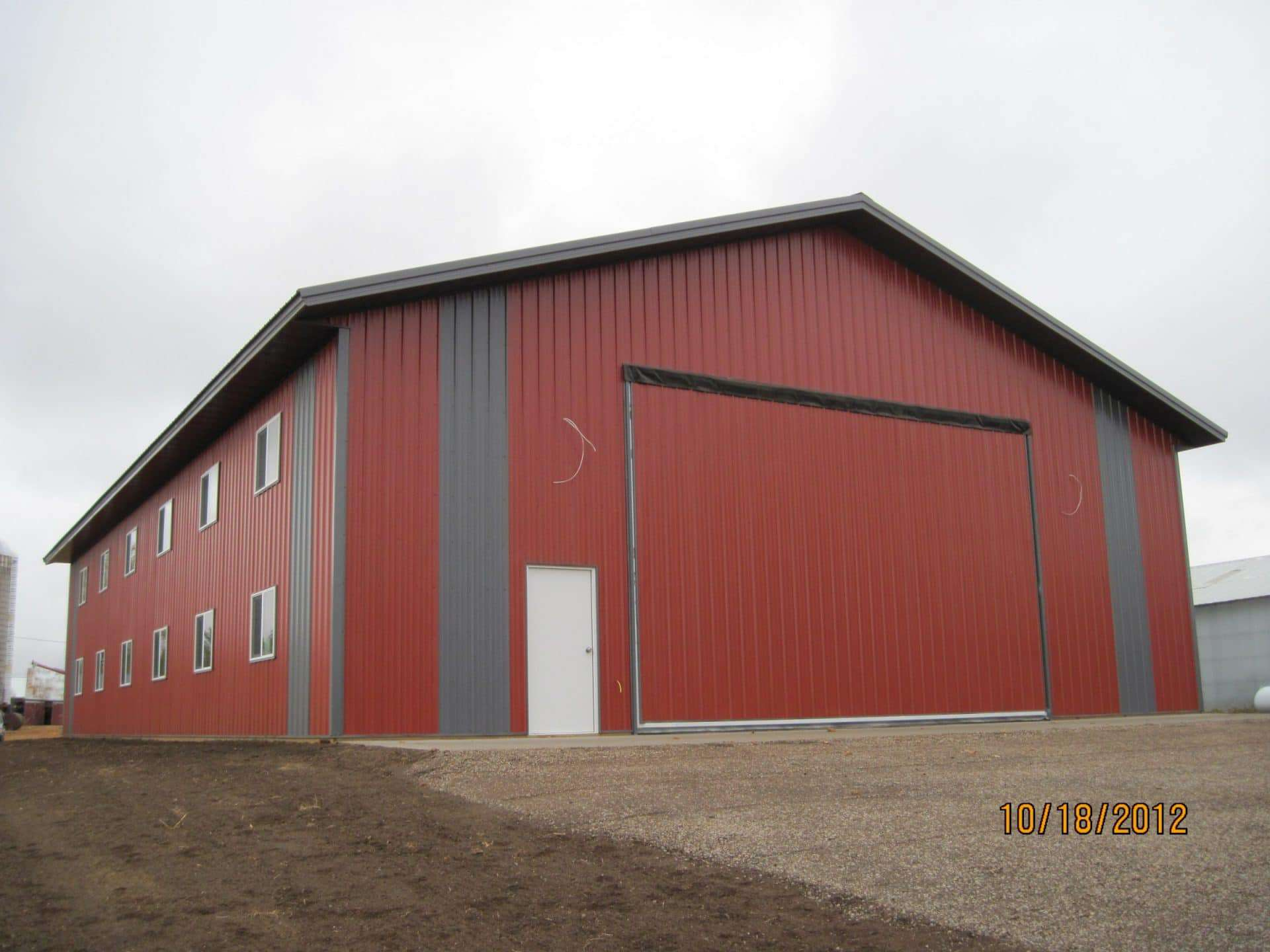 Pole Barns F B Contractors Inc The Pole Barn Siding